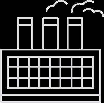 Multivista Industrial Factories Icon