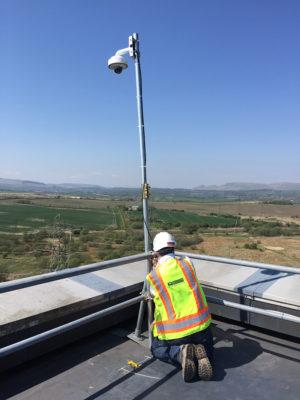 Live Webcam Jobsite Installation