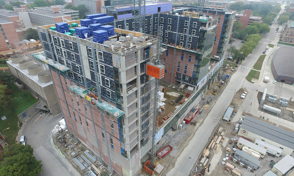 Drone Photography of Construction Process