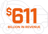 611 Billion in revenue truck
