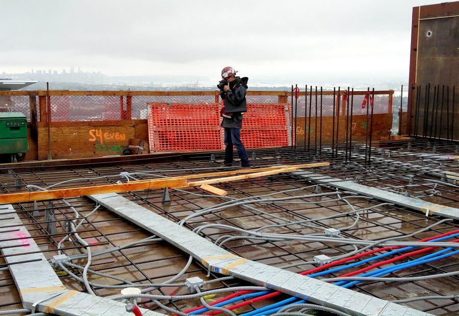 Pre-Slab Construction Photography By Multivista Photographer