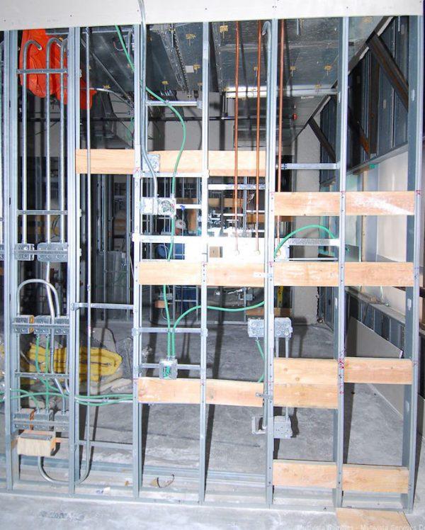 MEP construction site photo multivista