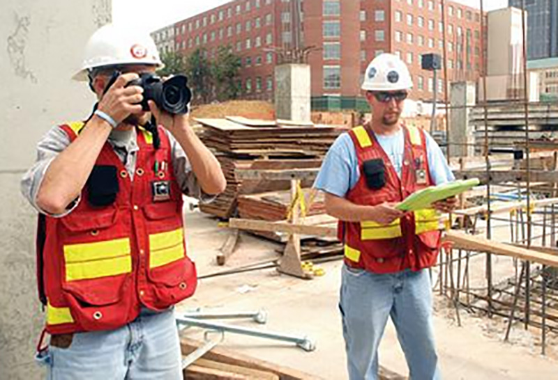 Multivista photographers performing documentation on job site