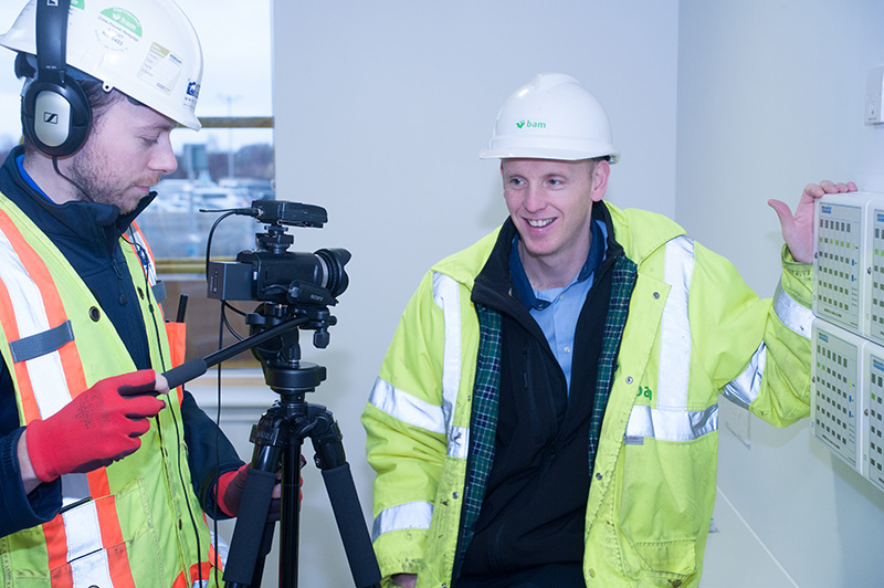 Multivista videographers recording training video for client