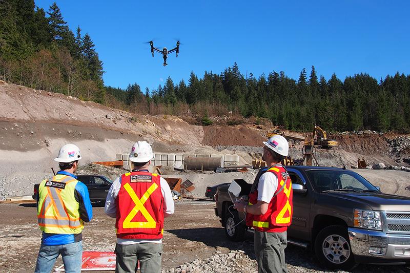 Construction Site Drone/UAV Documentation