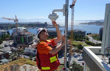 Construction Web Camera Installation