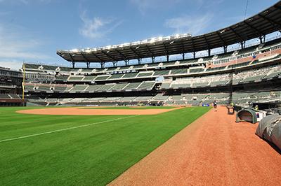 Recreation and Stadium Construction Atlanta Braves Third Base Line