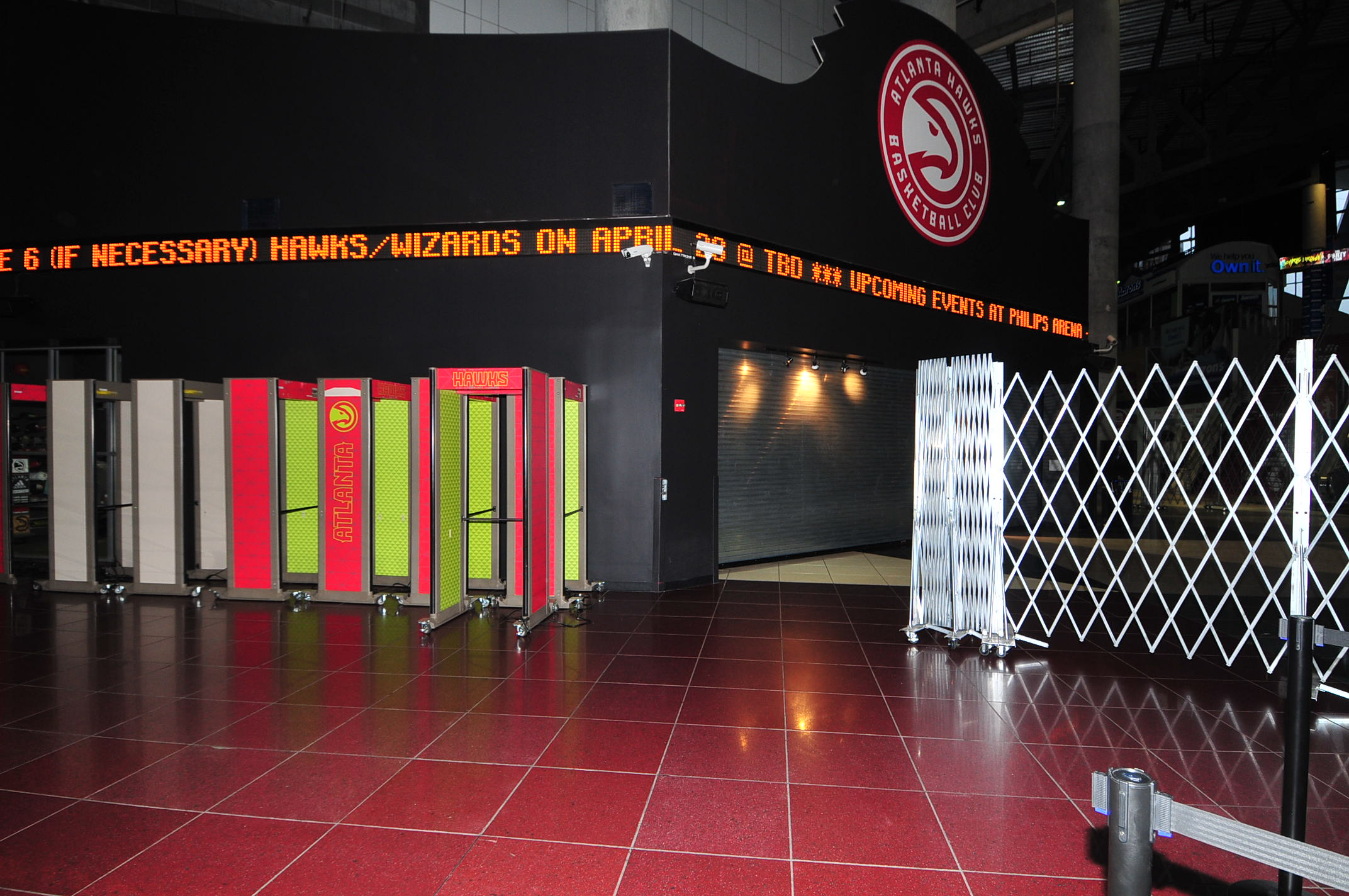 Recreation and Stadium Construction Atlanta Hawks