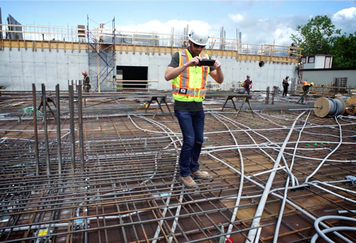 Construction Photography of Pre-Slab