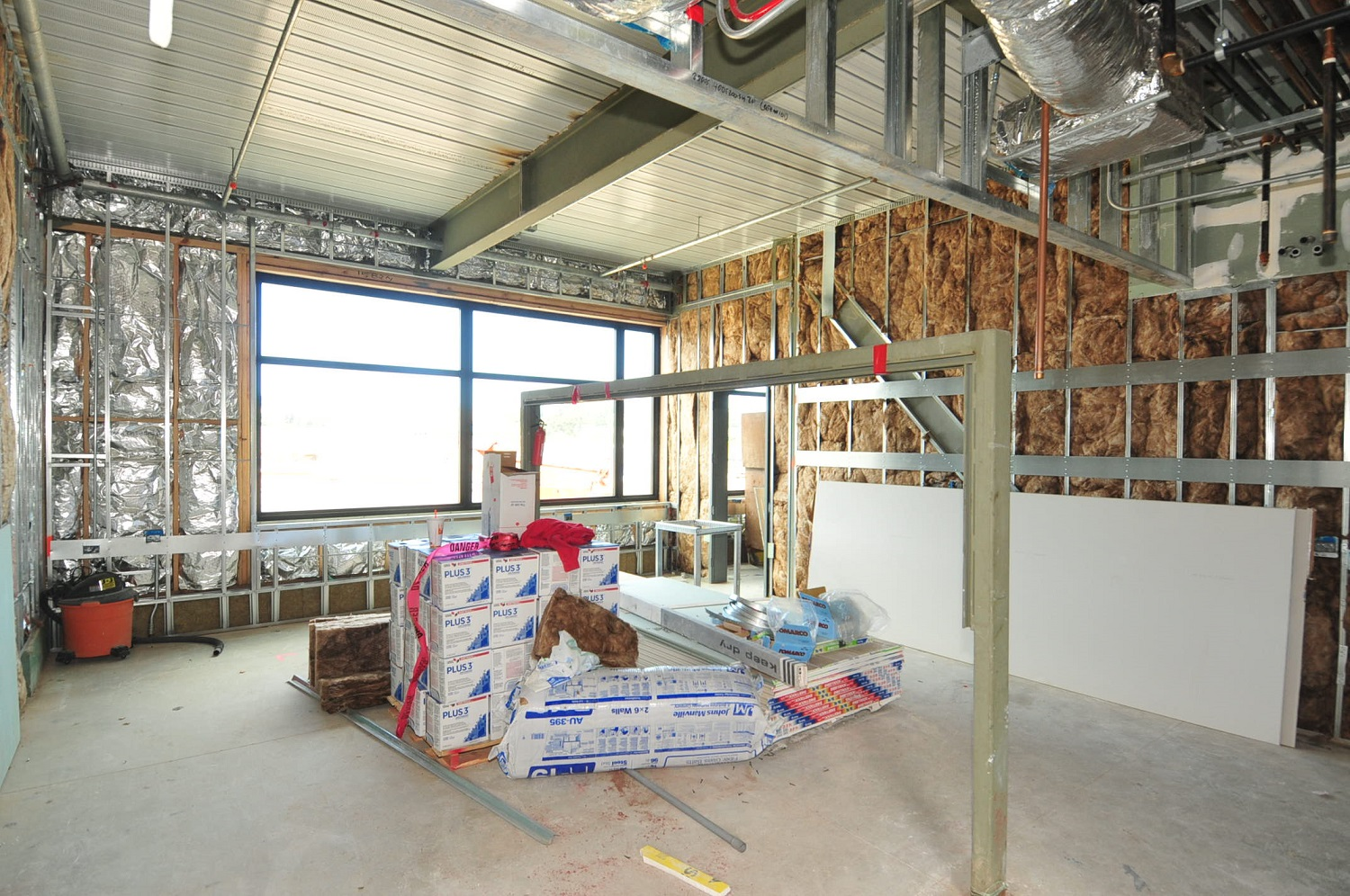 Interior Progress Photography for Construction Site