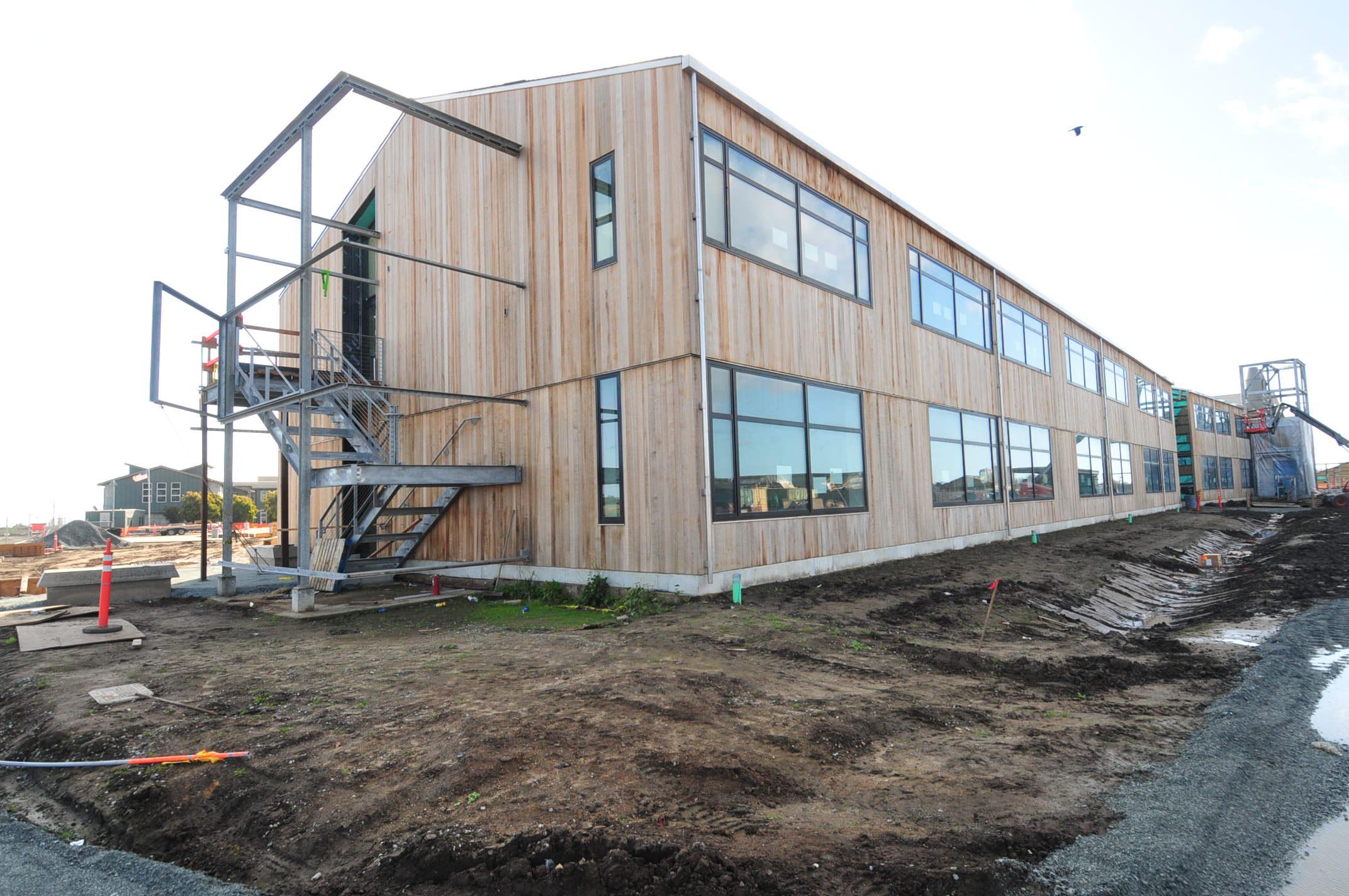 Exterior Construction Photo