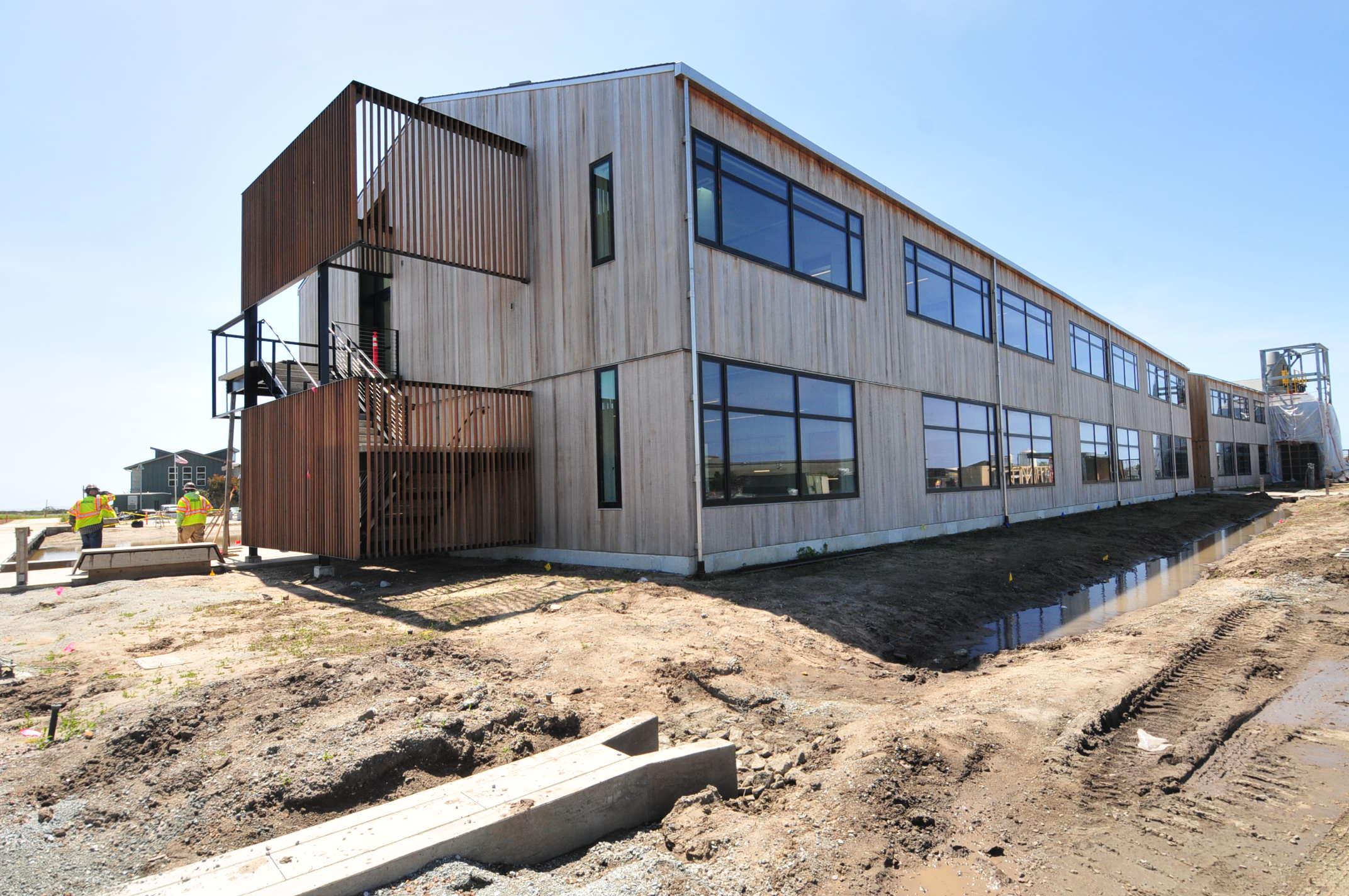 Exterior Construction Progress Photo